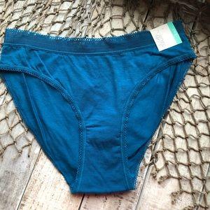 NWT Gilligan & O'Malley Bikini Panties Small